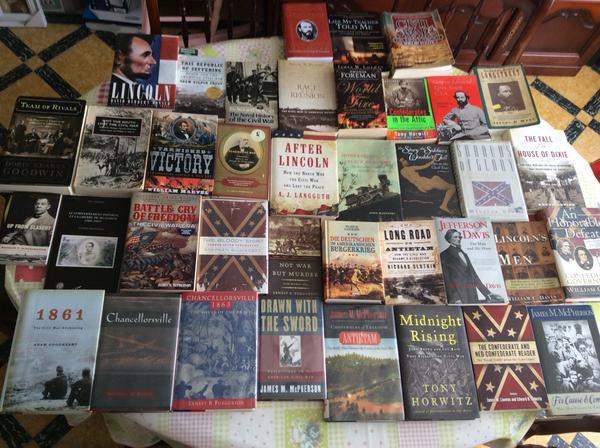 civil war reading list