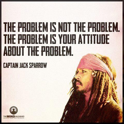 the problem attitude